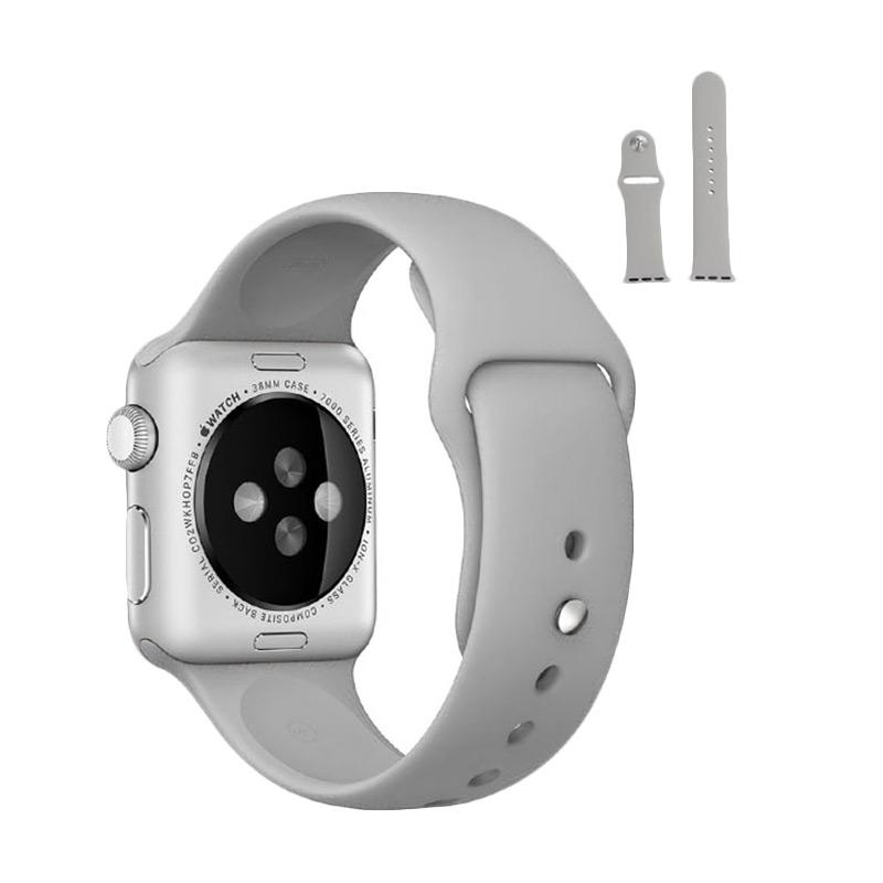 LOLLYPOP Strap Sports Band for Apple Watch 38mm - Cream