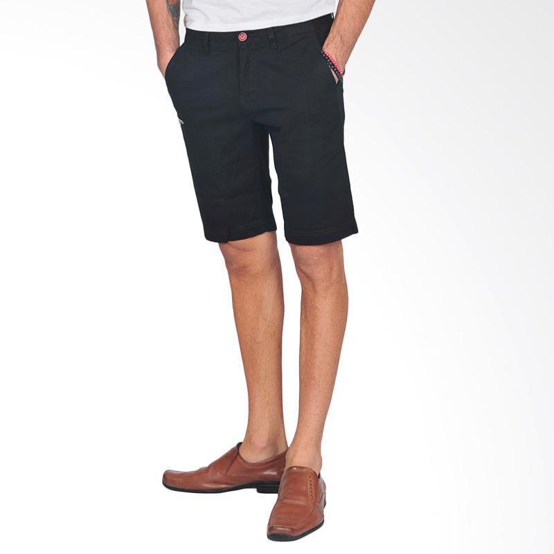SJO & SIMPAPLY G Maxwell Men's Shorts Celana Pendek Pria - Black