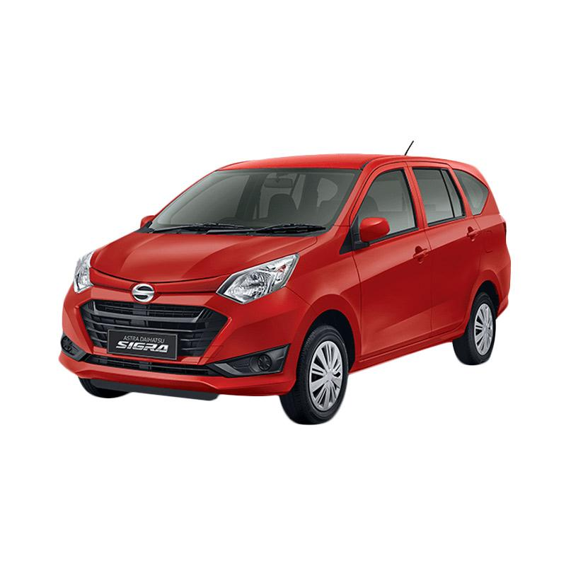 Daihatsu Sigra 1.0 M M-T Mobil - Red Solid