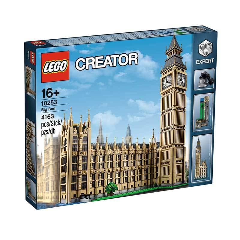LEGO Creator 10253 Big Ben Mainan Blok & Puzzle