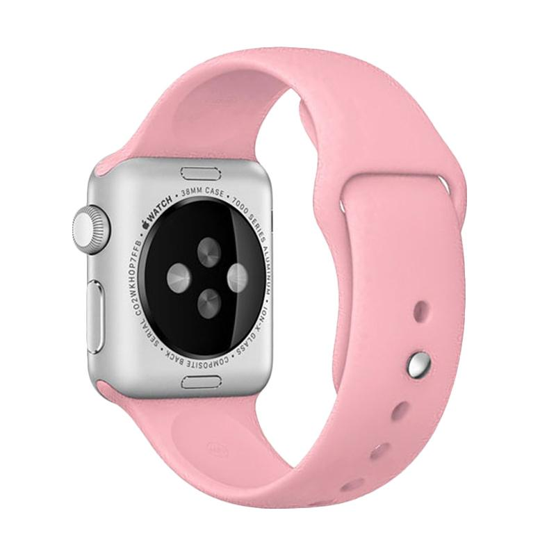 LOLLYPOP Strap Sports Band for Apple Watch 38mm - Pink