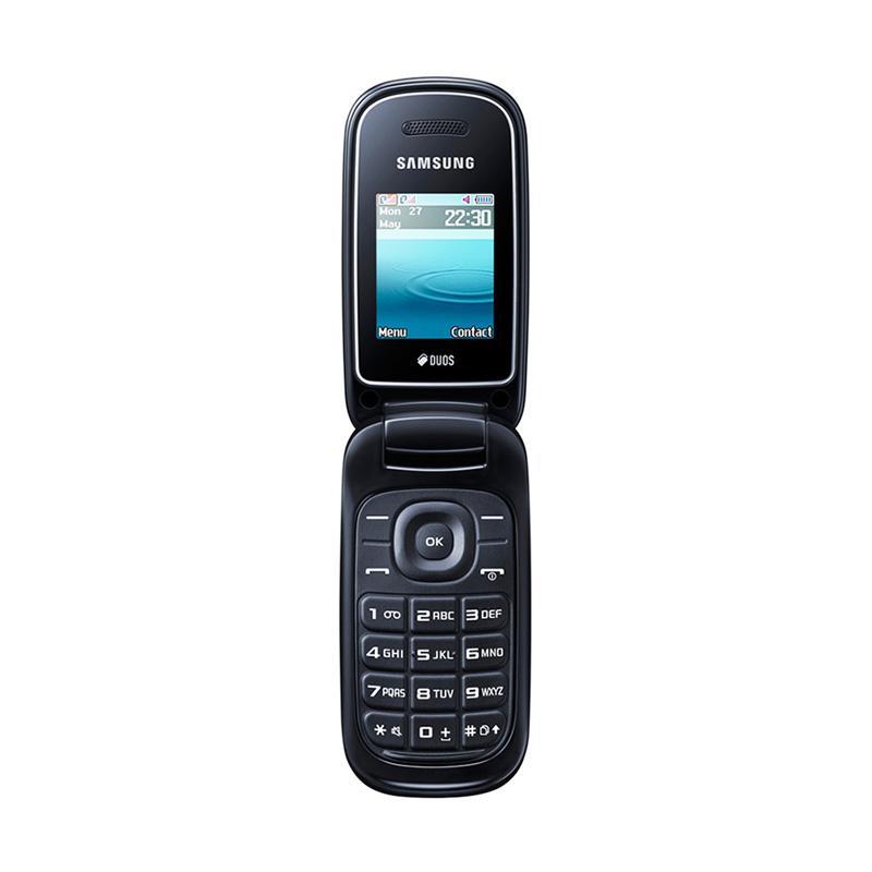 Samsung Caramel GT E1272 Handphone - Black
