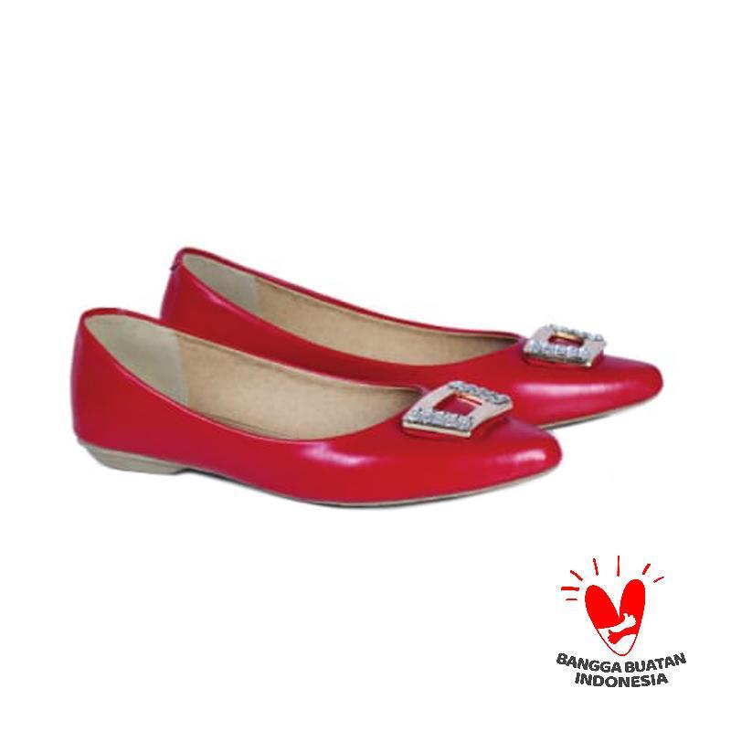 Spiccato SP 568.04 Slip On Shoes Wanita - Merah