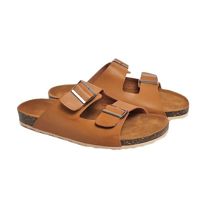 Spiccato SP 550.02 Casual Sandal Pria - Tan