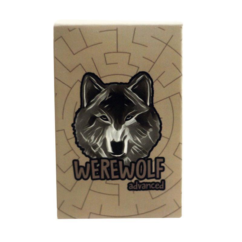 Ayaide Werewolf Card Game Advanced Kartu