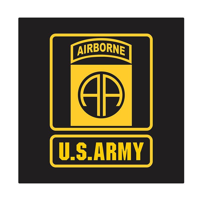 Kyle US Army 82nd Airborne Cutting Sticker