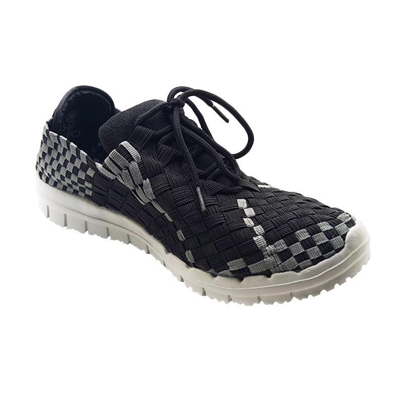 Lulia VS67 Sepatu Rajut Wanita - Hitam
