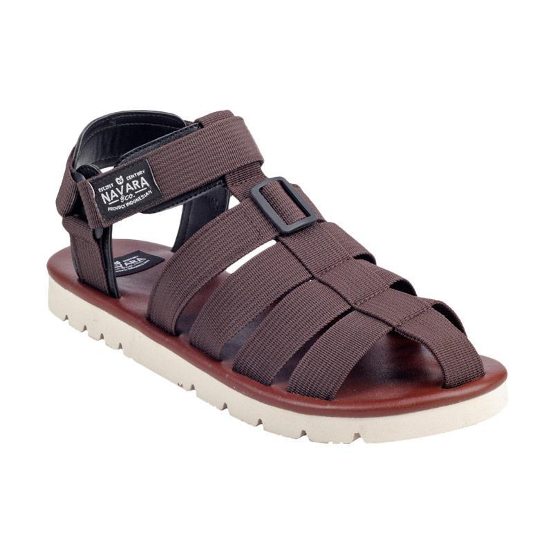 Navara Woodley Sepatu Sandal - Brown