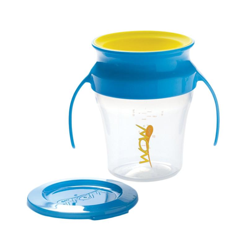 Wow Baby Spill Free 360 Derajat Training Cup - Blue