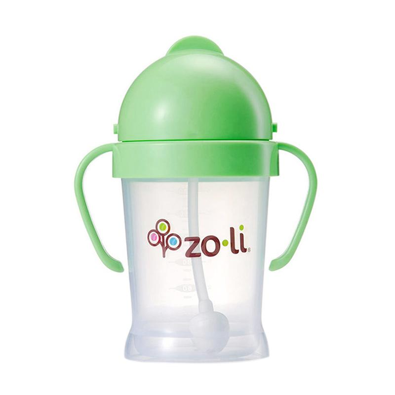 Zoli Bot Straw Sippy Cup - Green [6oz]