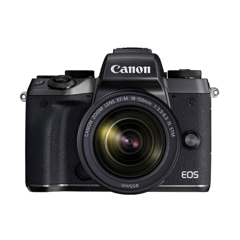 harga Canon EOS M5 Kit 18-150mm Kamera Mirrorless ( Free Screenguard Terpasang ) Garansi Resmi | Ladang Blibli.com