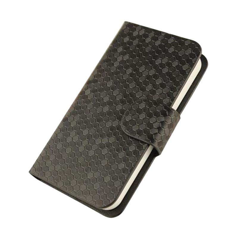 OEM Case Glitz Cover Casing for LG K10 - Hitam