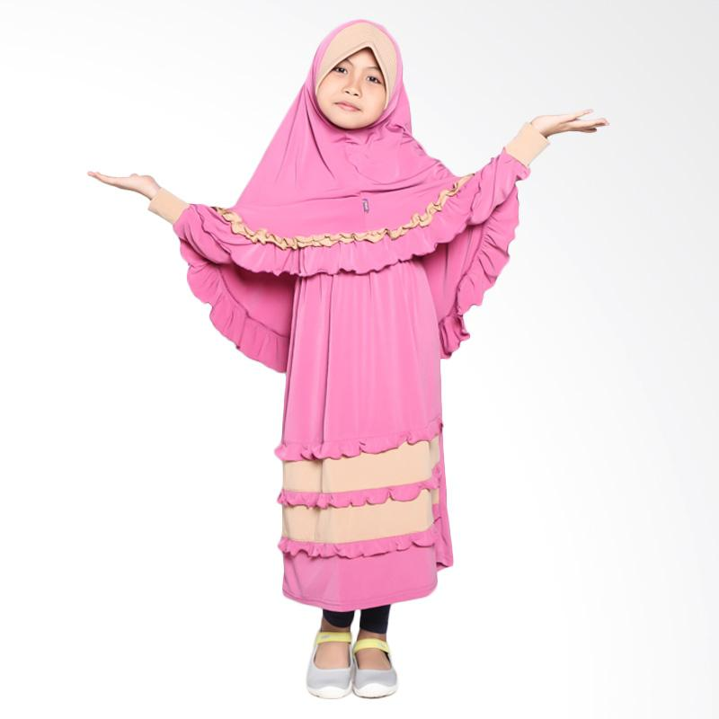 Allev Hisana Baju Muslim Anak - Fanta Mocca