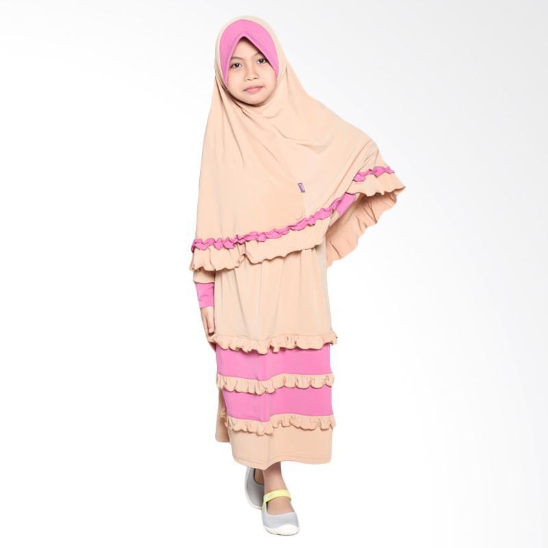 Allev Hisana Baju Muslim Anak - Mocca Fanta