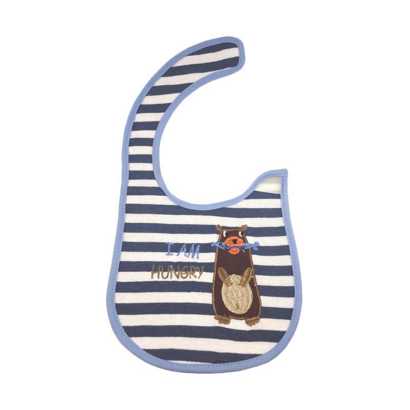 Bearhug 2 Piece Bear Singa Bib Bayi Laki-laki