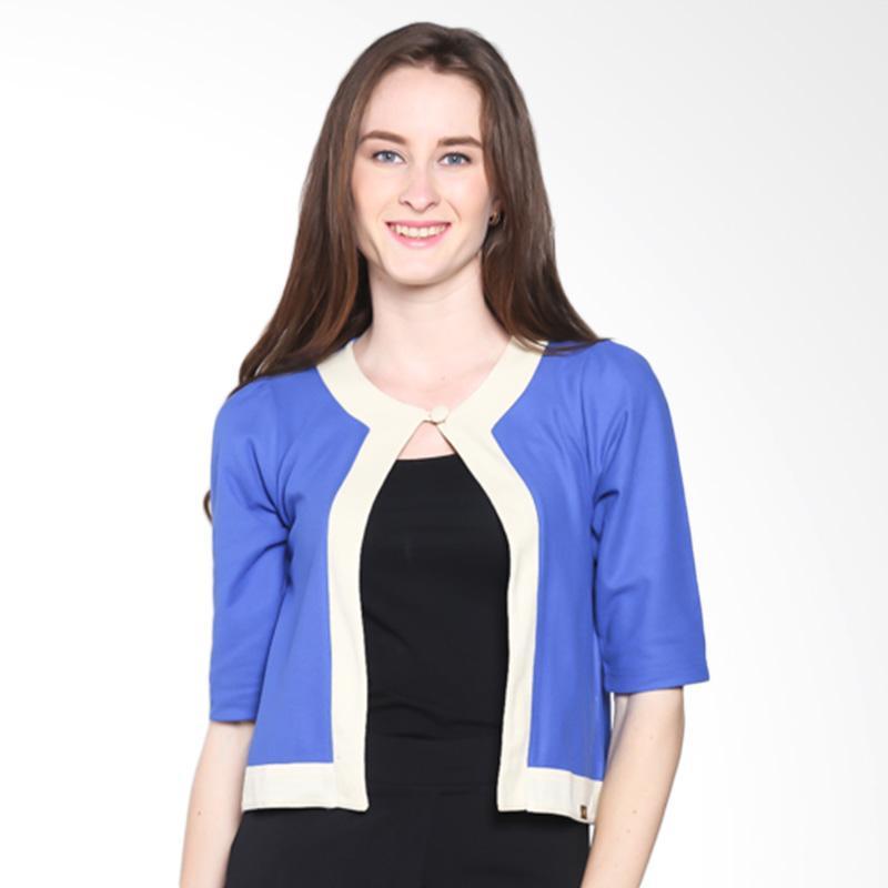 Gaff Alexandria Blouse 11411 1205 Atasan Wanita - Blue