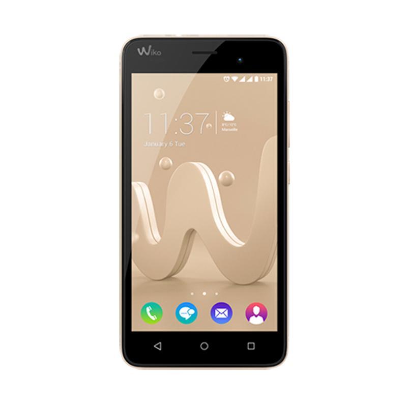 Wiko Jerry Smartphone - Black Gold [8 GB/1 GB]+ MERCHANDISE