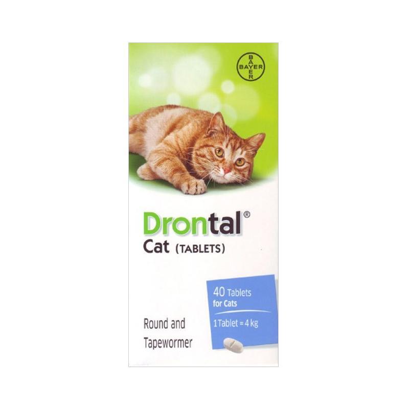 Drontal Cat Obat Cacing Kucing 3 Tablet