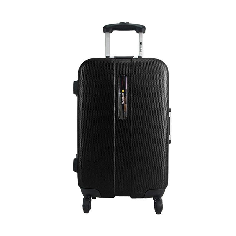 President TSA 5259A Koper - Black [20 Inch]
