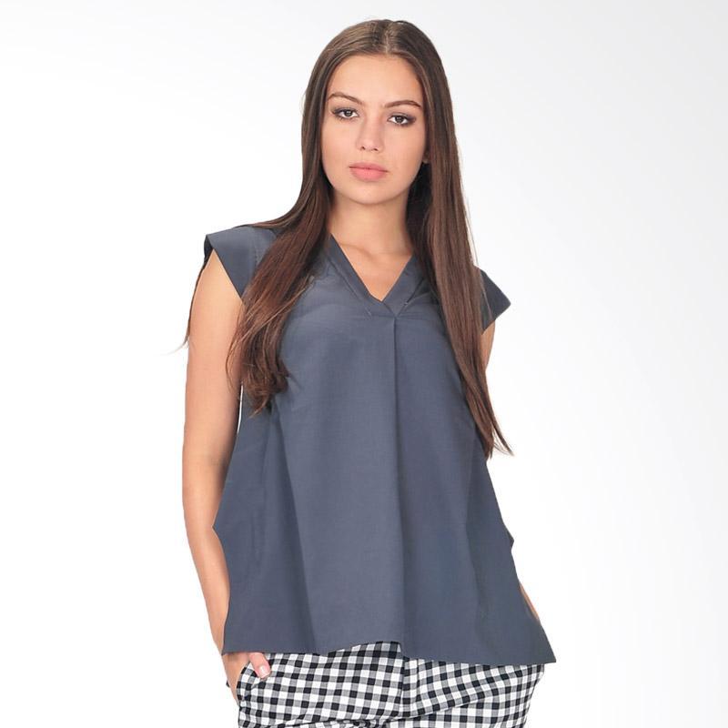 SJO & Simpaply Bratasa Women's Blouse - Grey
