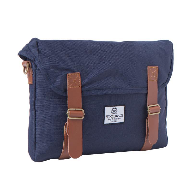 Woodbags Singaporean Bag Tas Pria - Navy Blue