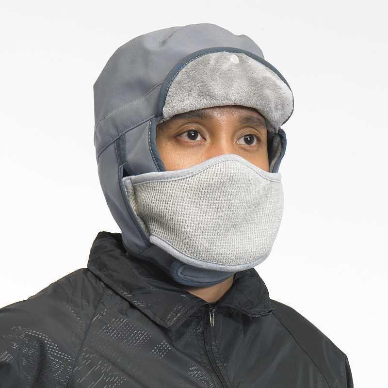 Kupluk Berlin Masker ZcoLand - Grey