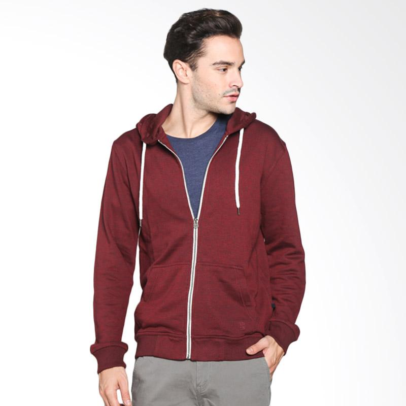 3SECOND Daily Outwear Jaket Pria - Red 114041715