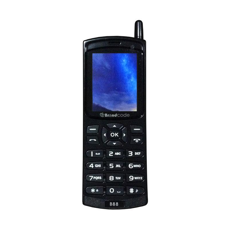 Brandcode B88 Big Sound Handphone - Hitam