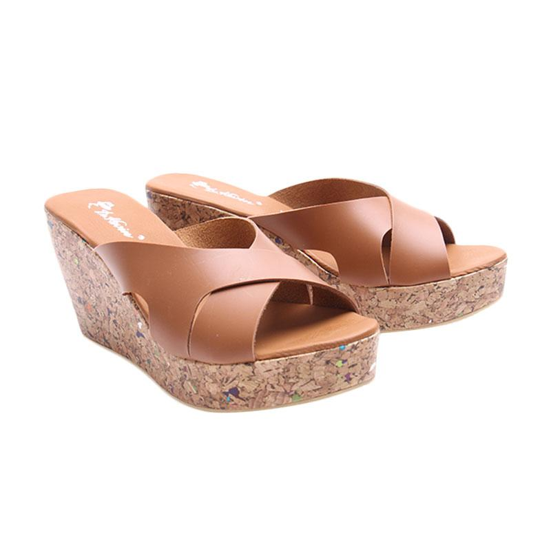 Dr.Kevin 27347 Women Wedges Sandals - Tan
