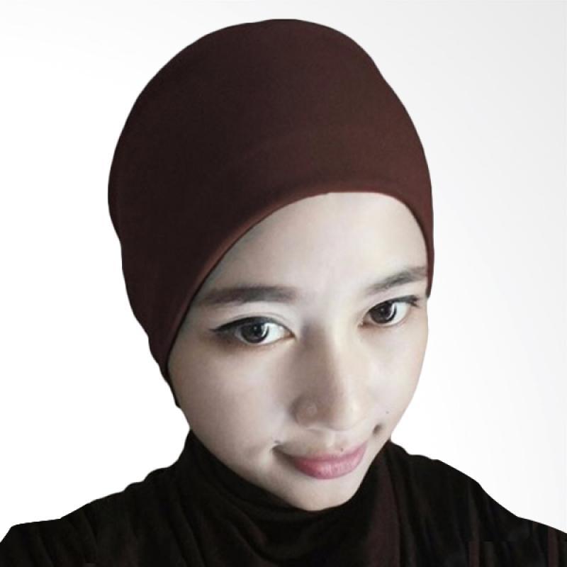 Milyarda Hijab Arab Ciput - Coklat