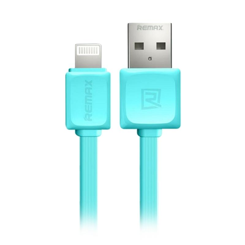 Remax Rc 008i Fast Lightning Data Cable - Blue