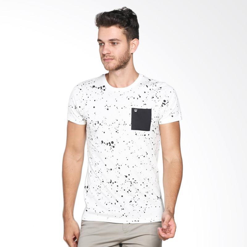 3 Second 110111612 Men T-shirt - Cream