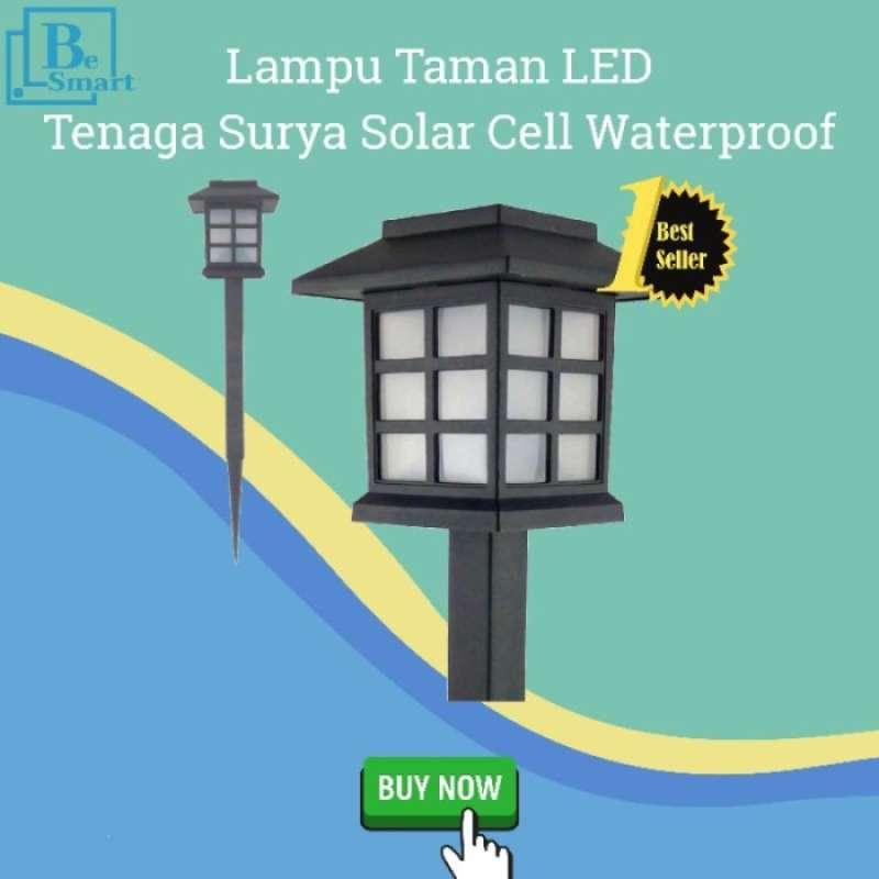 Jual Lampu Taman Tenaga Surya 8 Jam Waterproof Lampu Taman Solar Cell Online April 2021 Blibli