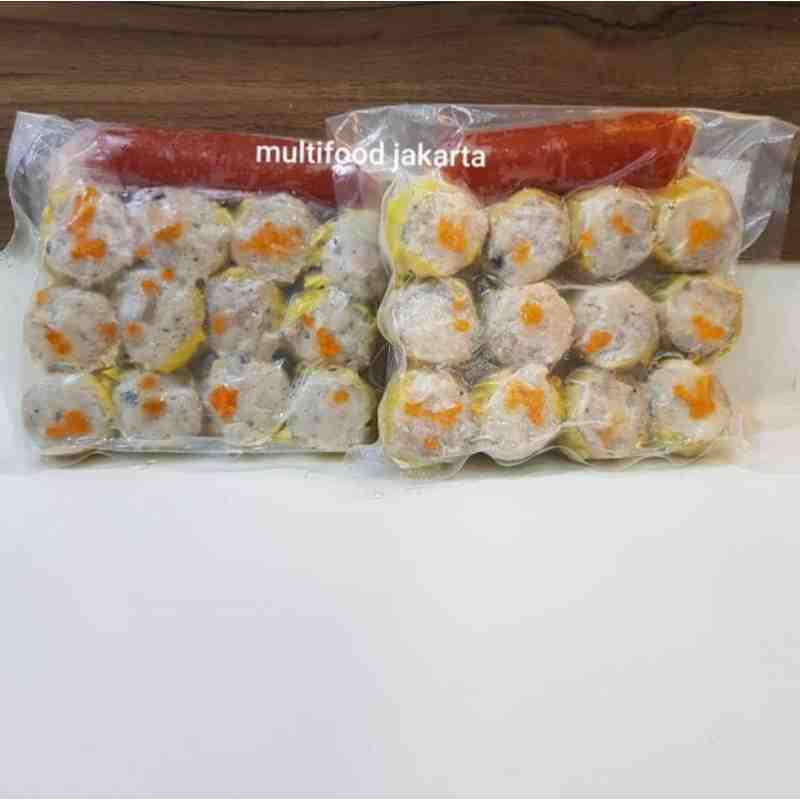 Siomay Udang Dimsum Frozen isi 12pc HOMEMADE