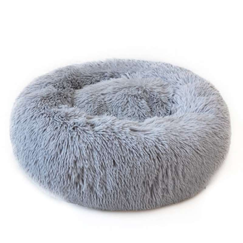 Cat Dog Donut Bed Kasur kucing anjing donut nyaman stress reliever L