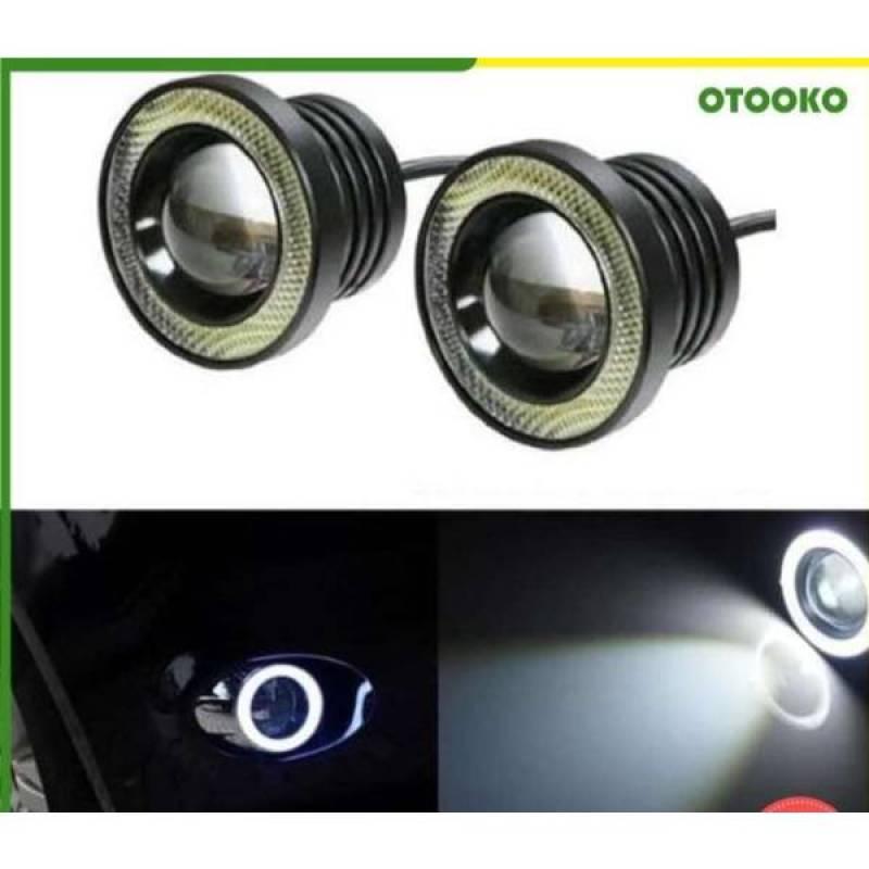 Jual Oem Lampu Led Fog Lamp Mobil Foglight Angel Eyes 89mm Projector Universal Terbaru Juli 2021 Blibli