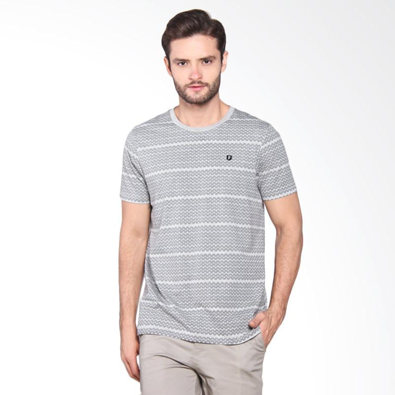 Famo Outer Line Casual Tee - Grey [505051712]