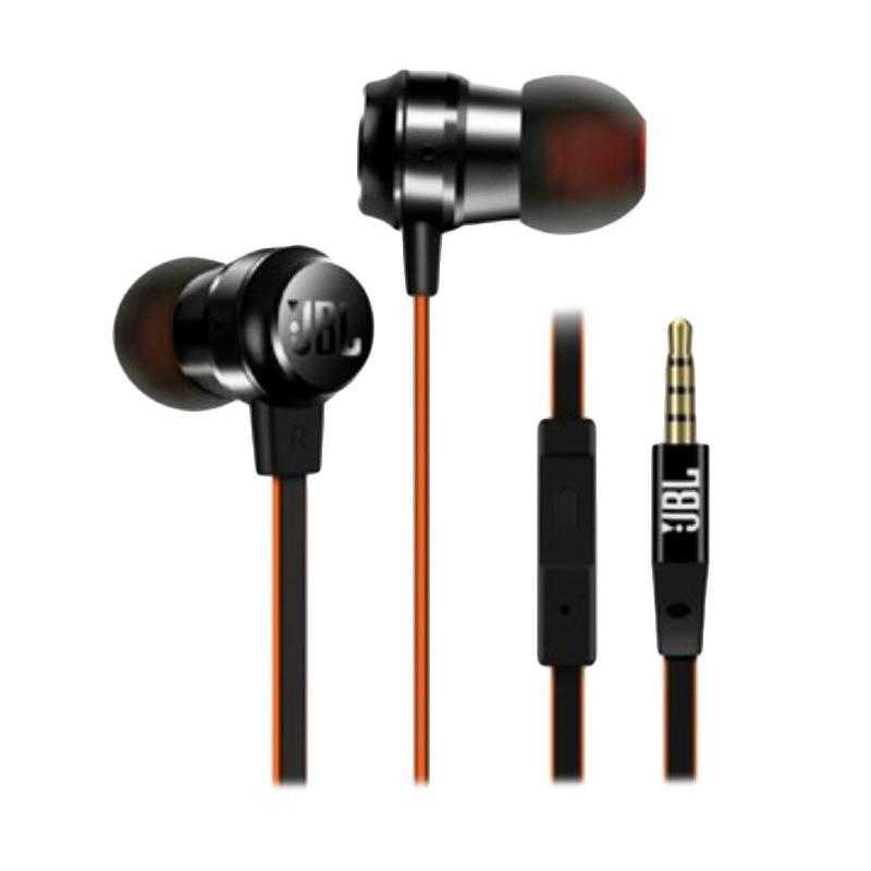 harga JBL T280 A+ In Ear Headphone - Black [GARANSI RESMI] Blibli.com
