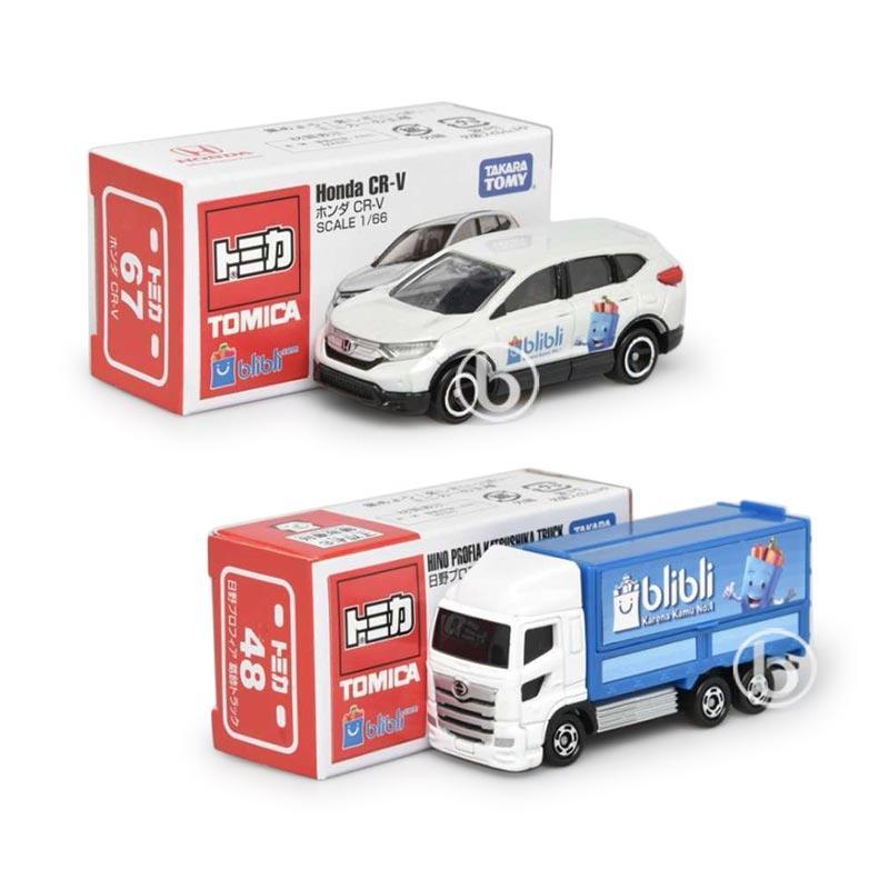 Promo Bundle Tomica Hino Profia Katsushika Truck Tomica Honda CR V Blibli com 9th Anniversary Edition