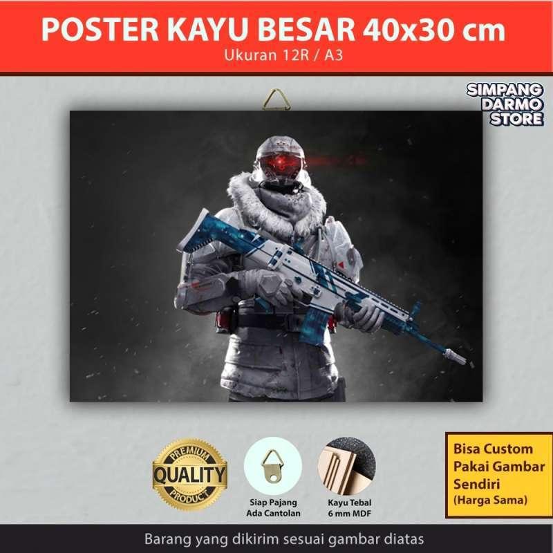 Jual Poster Kayu Besar Game Online Free Fire All Series Bisa Custom Gambar Lain Ukuran 30x40 Cm Ffr 17 Online April 2021 Blibli