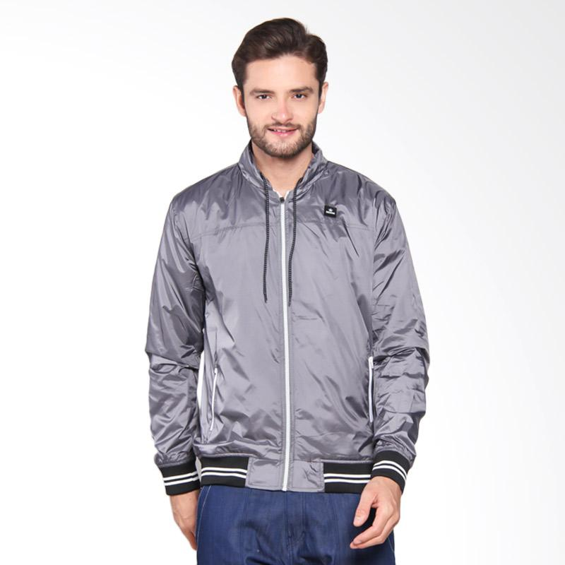 3SECOND Hooded Outwear - Grey [107061715]