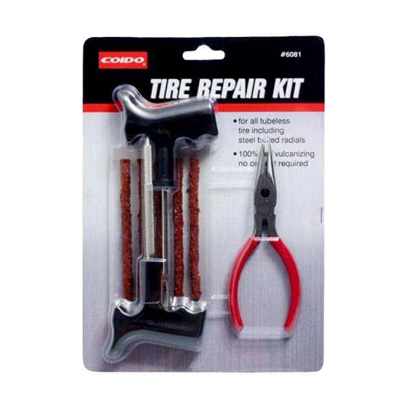 Coido Set Alat Tambal Ban Tubeless Darurat Tire Repair Kit