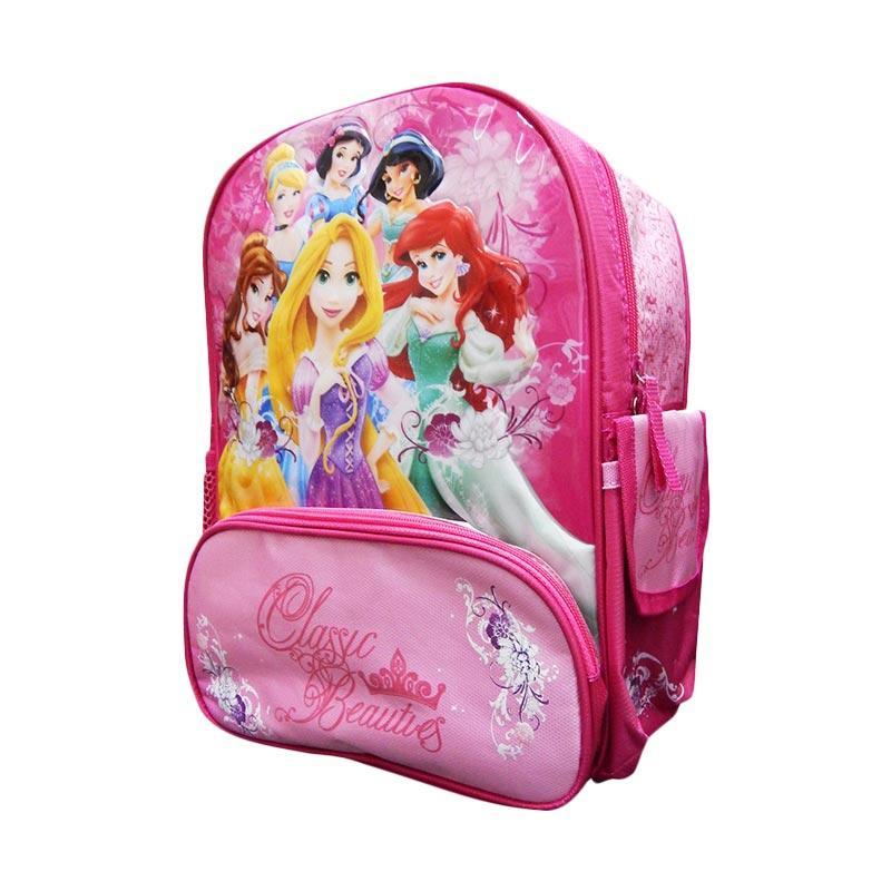 Wonderland Familia Indogift Motif Princess Tas Ransel Anak - Pink