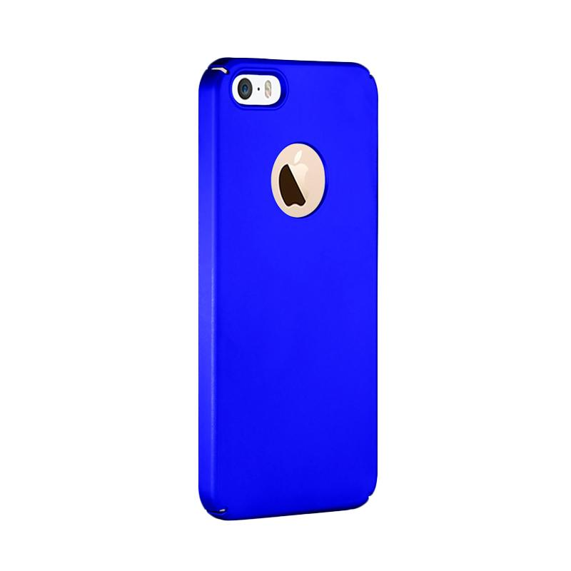 Fashion Baby Skin Ultra Thin Hardcase Casing for iPhone 5s - Blue