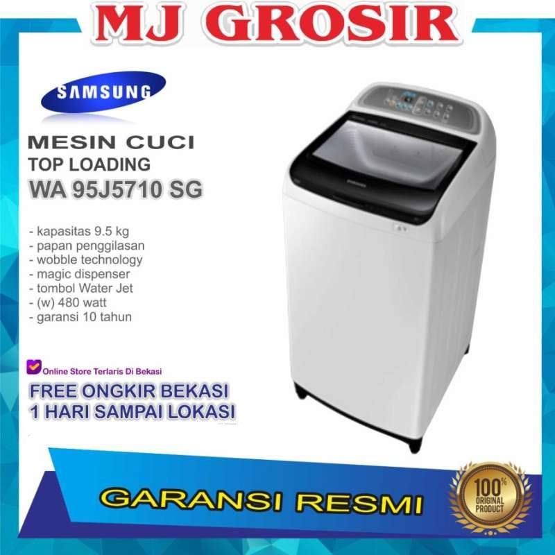 Jual Mesin Cuci Samsung Wa 95j5710 9kg 1 Tabung Wa95j5710 9 5 Kg Wobble Terbaru Juli 2021 Blibli