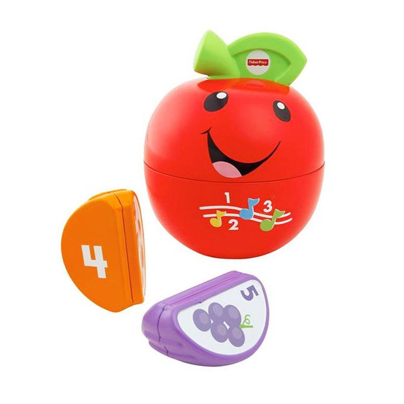 Fisher Price Laugh and Learn Learning Happy Apple Mainan Bayi