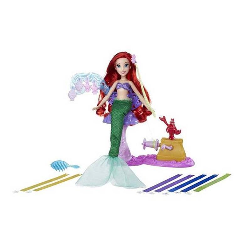 harga Disney Princess Ariel's Royal Ribbon Salon Mainan Boneka Blibli.com