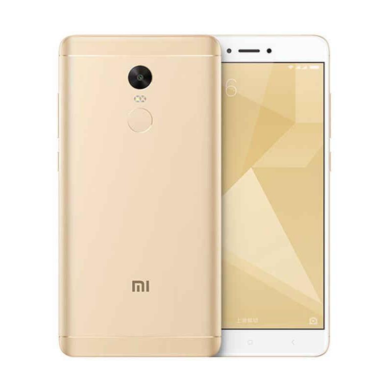 Xiaomi Redmi Note 4X Smartphone - Gold [16GB/ 3GB] - 9308114 , 15952500 , 337_15952500 , 1786000 , Xiaomi-Redmi-Note-4X-Smartphone-Gold-16GB-3GB-337_15952500 , blibli.com , Xiaomi Redmi Note 4X Smartphone - Gold [16GB/ 3GB]