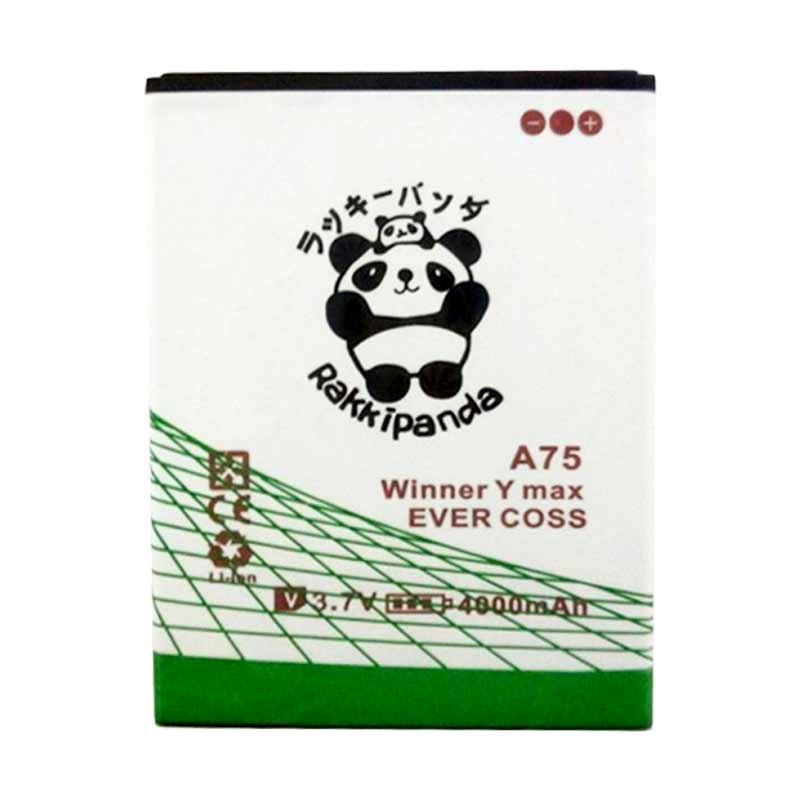 RAKKIPANDA Double Power & IC Battery for Eevercoss A75 Winner Y Max