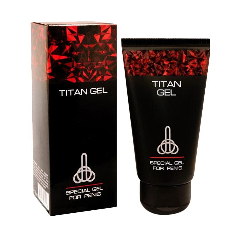 Jual Cream Pembesar Penis Titan Gel Asli Herbal Online - Harga & Kualitas Terjamin   Blibli.com